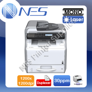 Ricoh SP-3610SF 3-in-1 Mono Laser Network MFP Printer+Auto Duplexer 30PPM 1200DPI